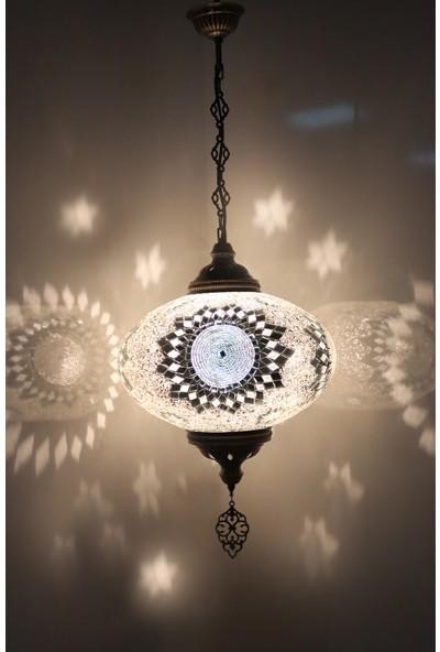 Atölye Lamp Design Mozaik Avize Tekli Lamba