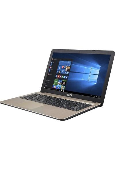 """Asus X540UA-GO748T Intel Core i3 7020U 4GB 128GB SSD Windows 10 Home 15.6"""" Taşınabilir Bilgisayar"""