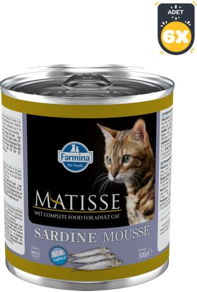 Farmina Matisse Cat Mousse Sardalyalı 300 g x 6 Adet
