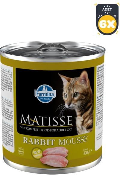 Farmina Matisse Cat Mousse Tavşanlı 300 g x 6 Adet