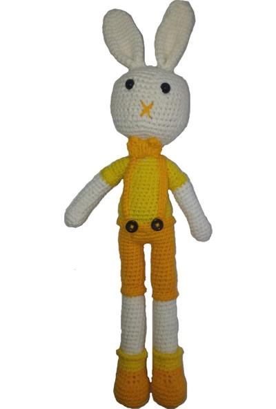 Özgüven Oto Giyim Amigurumi Organik Oyuncak Tavşan