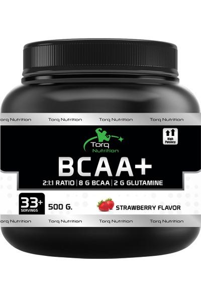 Torq Nutrition Bcaa+ 500 Gr - 33+ Servis (BCAA + L-Glutamine) Çilek Aromalı