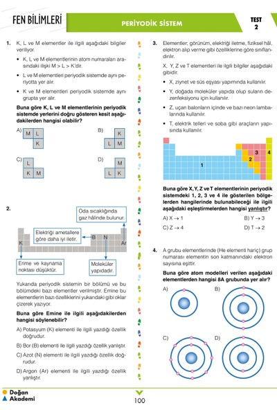 8.Sınıf-LgsKafadar Fen Bilimleri Soru Bankası