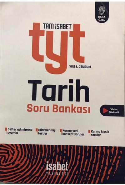 İsabet Yayınları Tyt Tarih Soru Bankası