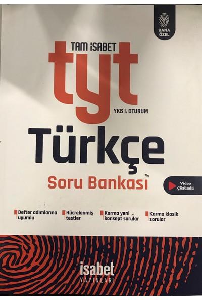 İsabet Yayınları Tyt Türkçe Soru Bankası