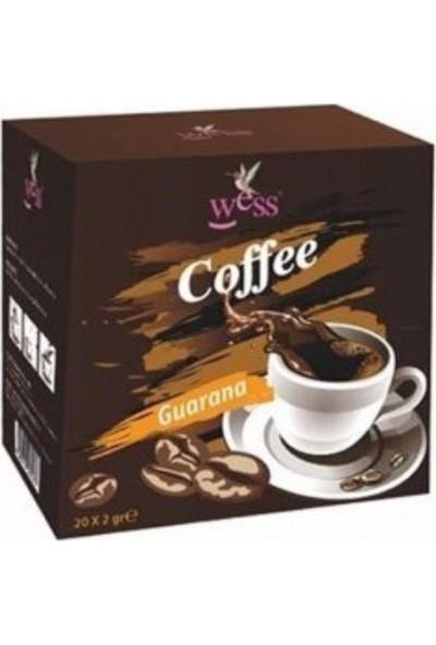 Wess Kahve Guarana 2g x 20 Adet WSS062237