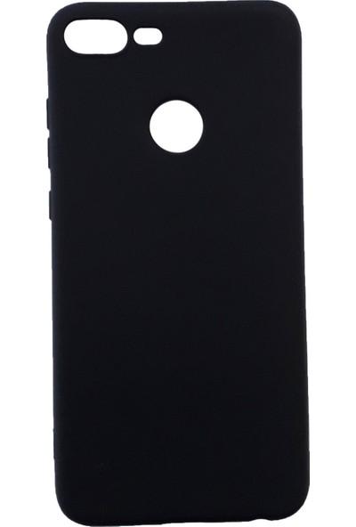 Tekno Grup Huawei Honor 9 Lite Mat Premium Silikon Kılıf - Siyah