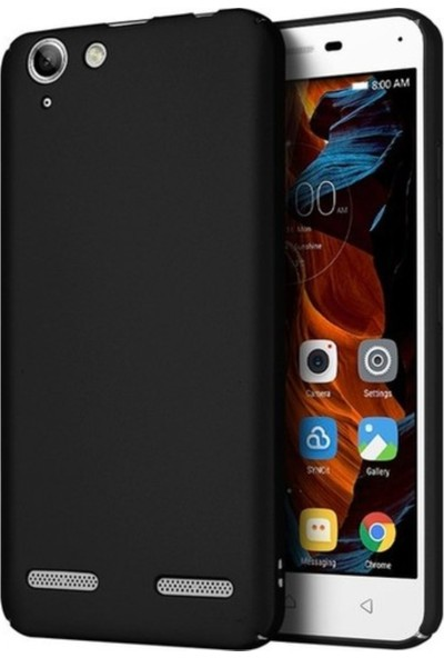 Tekno Grup Lenovo K5 Mat Premium Silikon Kılıf - Siyah + Nano Ekran Koruyucu