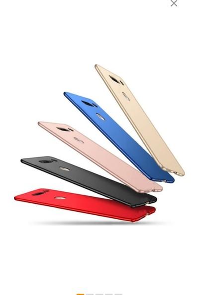 Tekno Grup Samsung Galaxy A80 Kılıf Mat Premium Silikon Kılıf - Bordo