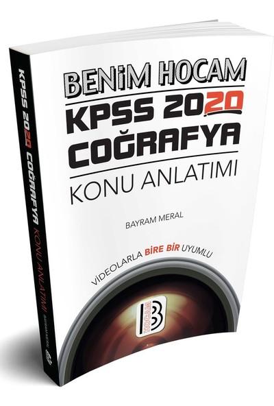 Benim Hocam Yayınları 2020 Kpss Coğrafya Konu Anlatımı - Bayram Meral