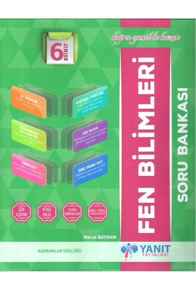 Yanıt 6. Sınıf Fen Bilimleri Soru Bankası - Meral Bayram