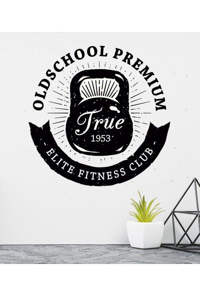Areksan Reklam True Elite Fitness Club Duvar Sticker