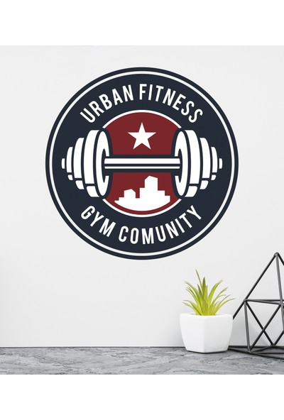 Areksan Reklam Urban Fitness Duvar Sticker
