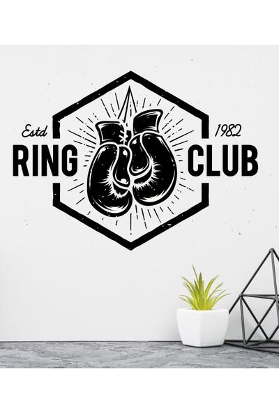 Areksan Reklam Ring Club Duvar Sticker