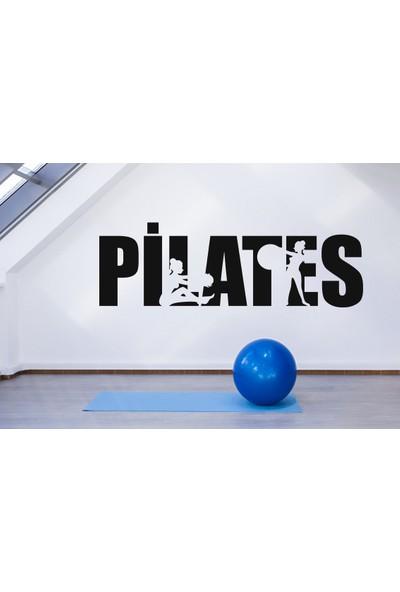 Areksan Reklam Pilates Yazısı Logo Duvar Sticker