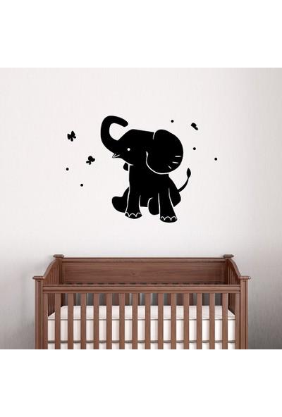 Areksan Reklam Sevimli Yavru Fil Çocuk Odası Duvar Sticker