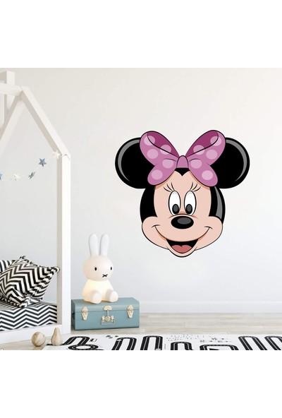 Areksan Reklam Minnie Mouse Portre Çocuk Odası Duvar Sticker