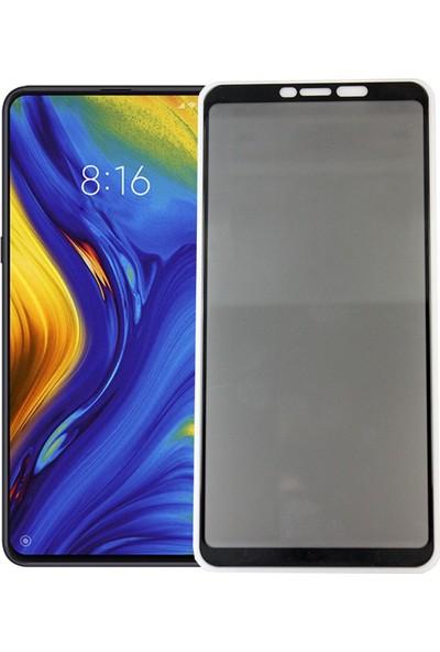 Case 4U Xiaomi Mi Max 3 Privacy Hayalet Cam Ekran Koruyucu Siyah