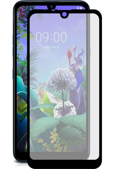 Case 4U LG Q60 Fiber Nano Cam Ekran Koruyucu Film Siyah