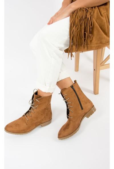 Fox Shoes Taba Kadın Bot E288496002