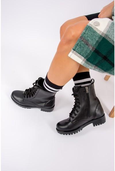 Fox Shoes Siyah Kadın Bot G652072409