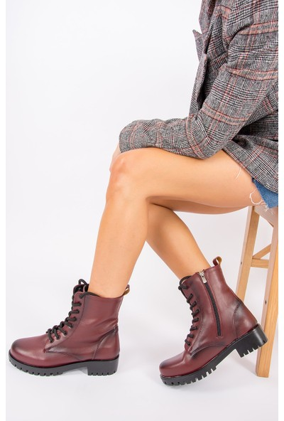 Fox Shoes Bordo Kadın Bot G652072409