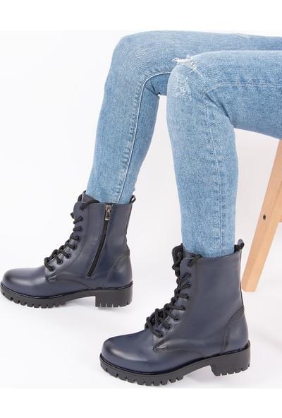 Fox Shoes Lacivert Kadın Bot G652072409