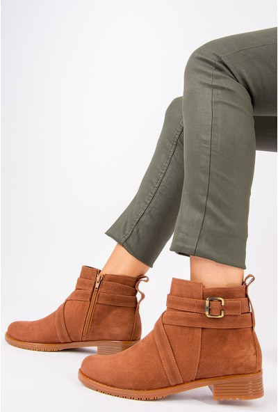 Fox Shoes Taba Kadın Bot G726290202