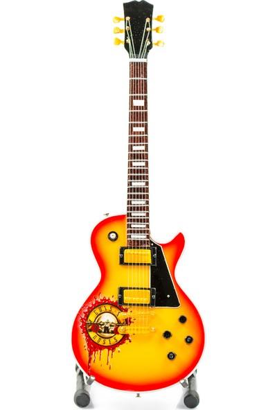 Shoptimal Guns N' Roses Dekoratif Minyatür Gitar