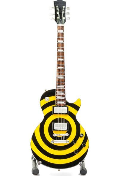 Shoptimal Zakk Wylde Model Dekoratif Minyatür Gitar