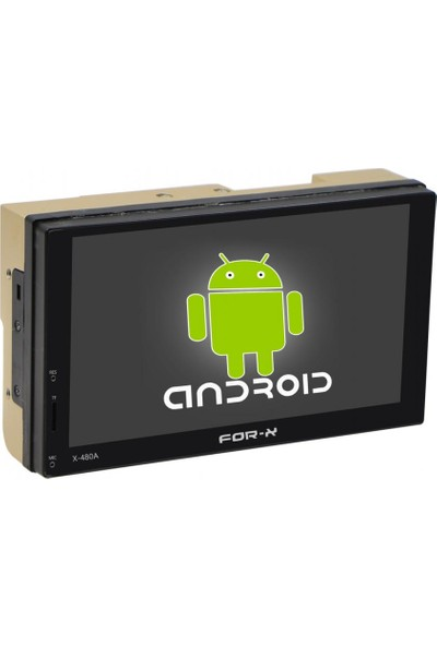 For-X X-480A Double Android Indash Teyp