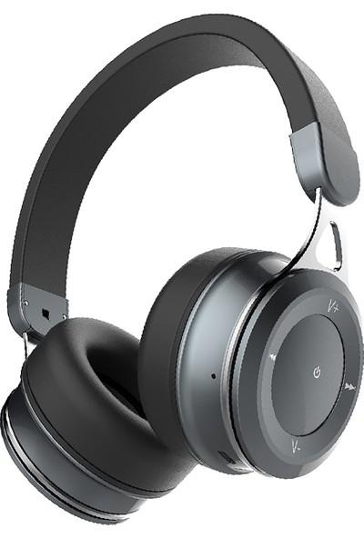 Vidvie BBH2102 Kablosuz Kulak Üstü Bluetooth Kulaklık - Siyah
