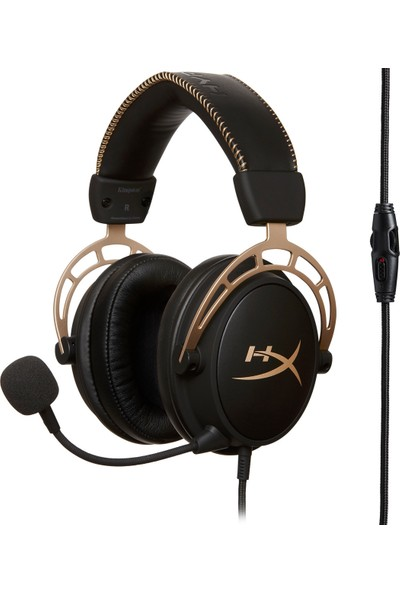 HyperX Cloud Alpha Gold Oyuncu Kulaklığı - HX-HSCA-GD/NAP