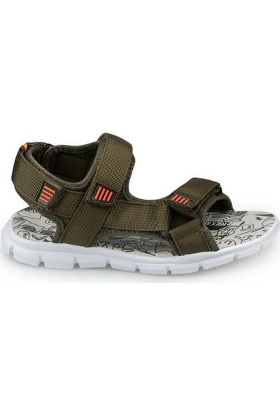 Polaris 91.511216.F Yeşil Erkek Çocuk Spor Sandalet