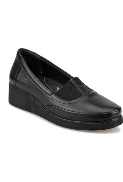 Polaris 5 Nokta 92.101037.Z Siyah Kadın Ayakkabı