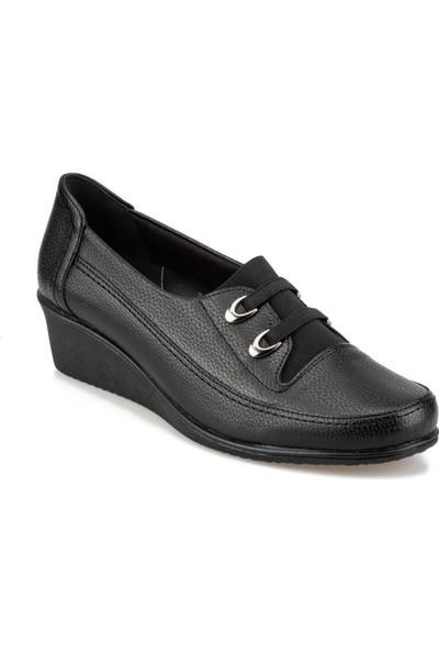 92.107552.Z Siyah Kadın Bilekte Ayakkabı