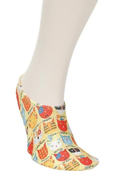 Freshout Meow Sarı Kız Çocuk Deniz Ayakkabısı