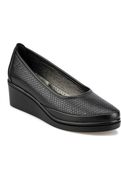 Polaris 92.151038Yz Siyah Kadın Ayakkabı