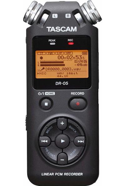 Tascam DR-05 Stereo Taşınabilir Dijital Ses Kaydedici
