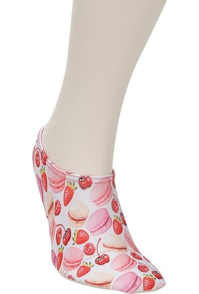 Freshout Macaron Kırmızı Kız Çocuk Deniz Ayakkabısı