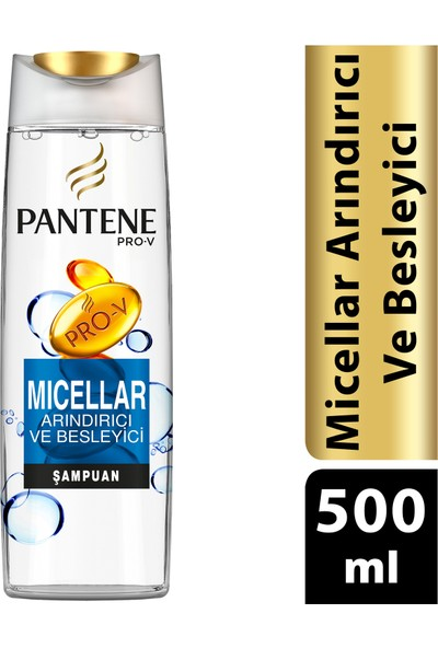 Pantene Micellar 500 ml Şampuan