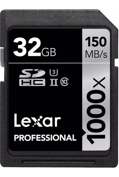 Lexar Professional 32GB SDHC UHS-2 Class 10 U3 Hafıza Kartı LSD32GCB1000