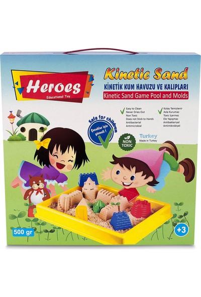 Heroes Küçük Havuzlu Kale Kalıpları Kumlu 500 gr