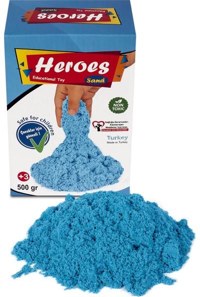 Heroes Mavi Kinetik Kum 500 gr