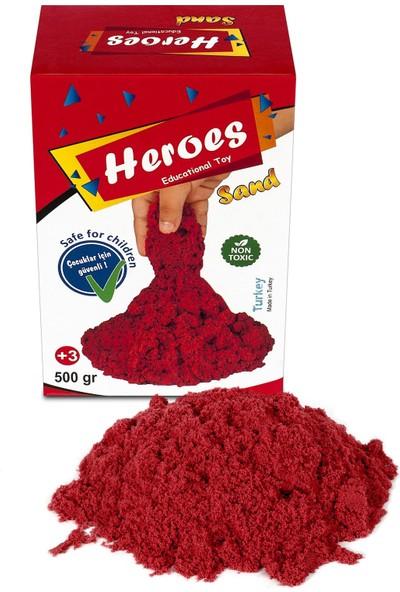 Heroes Kırmızı Kinetik Kum 500 gr