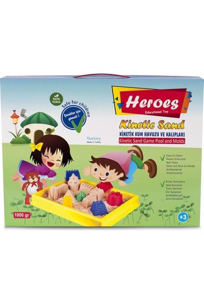 Heroes büyük Havuzlu Kale Kalıpları Kumlu 1000 gr