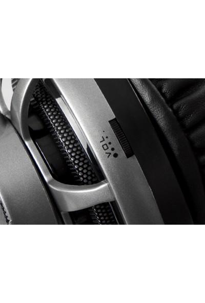 Rampage SN-RX7 EAGLE Gri Ledli Oyuncu Mikrofonlu Kulaklık