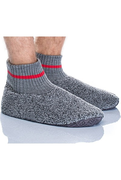 Twigy Viento NN0631 Erkek Panduf Ev Ayakkabısı Peluş Terlik