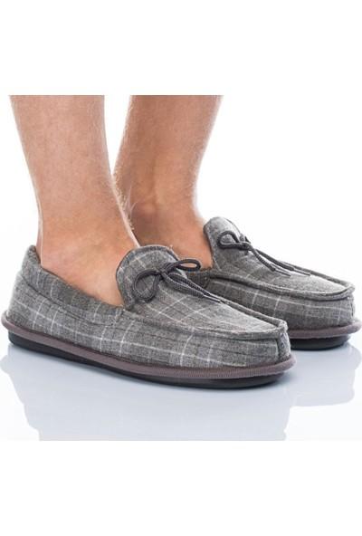 Twigy Sodom L0322 Erkek Panduf Ev Ayakkabısı Peluş Terlik