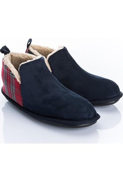 Twigy Opak L0308 Erkek Panduf Ev Ayakkabısı Peluş Terlik